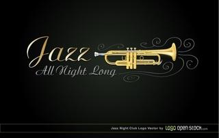 JAZZ Night Club の無料イラスト