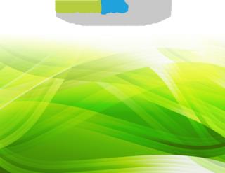 抽象的なグリーンのグラデーションウエーブの無料イラスト
