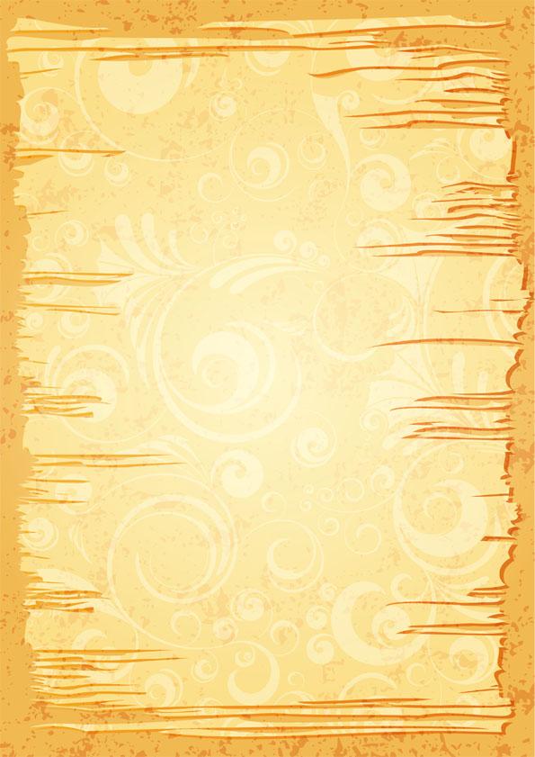 ちぎれた古い紙のようなフレームの無料イラスト Grunge Backgroundby:freeg