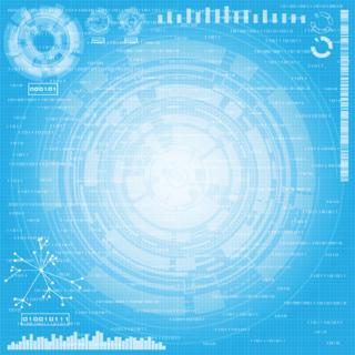 サイエンス・テクノロジーのイメージの背景の無料イラスト