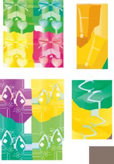真夏のアイテム-サングラス、サンダル、日焼け止めクリームの無料イラスト